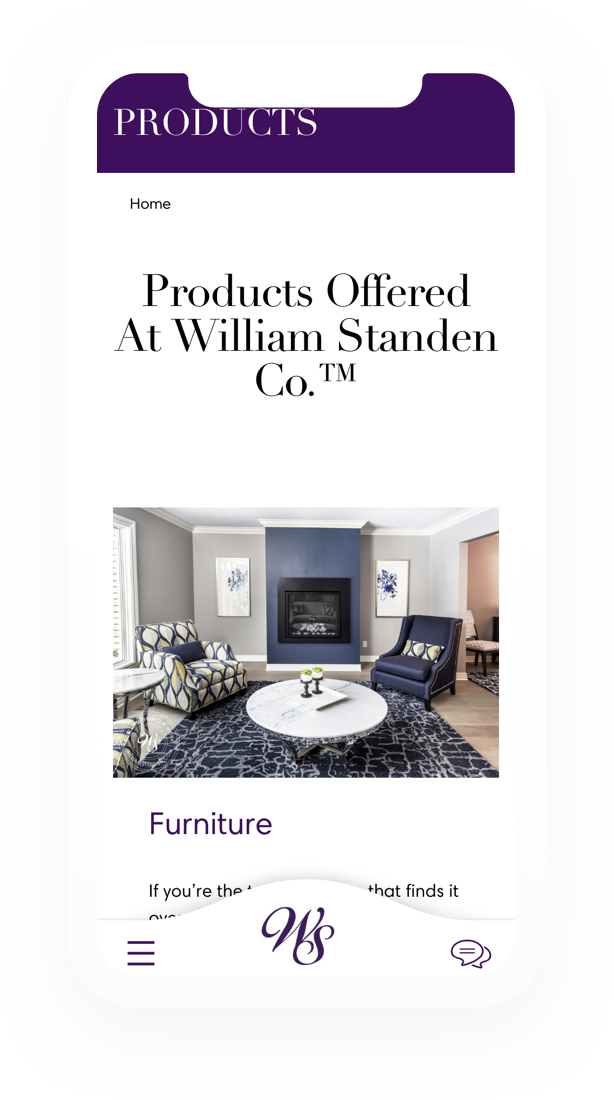 William Standen Product Page 1