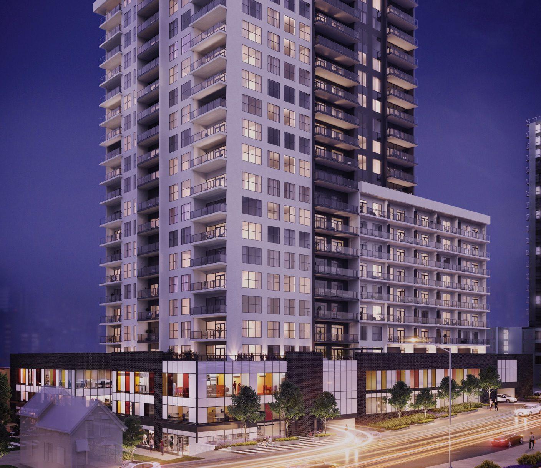 Riverwalk building render