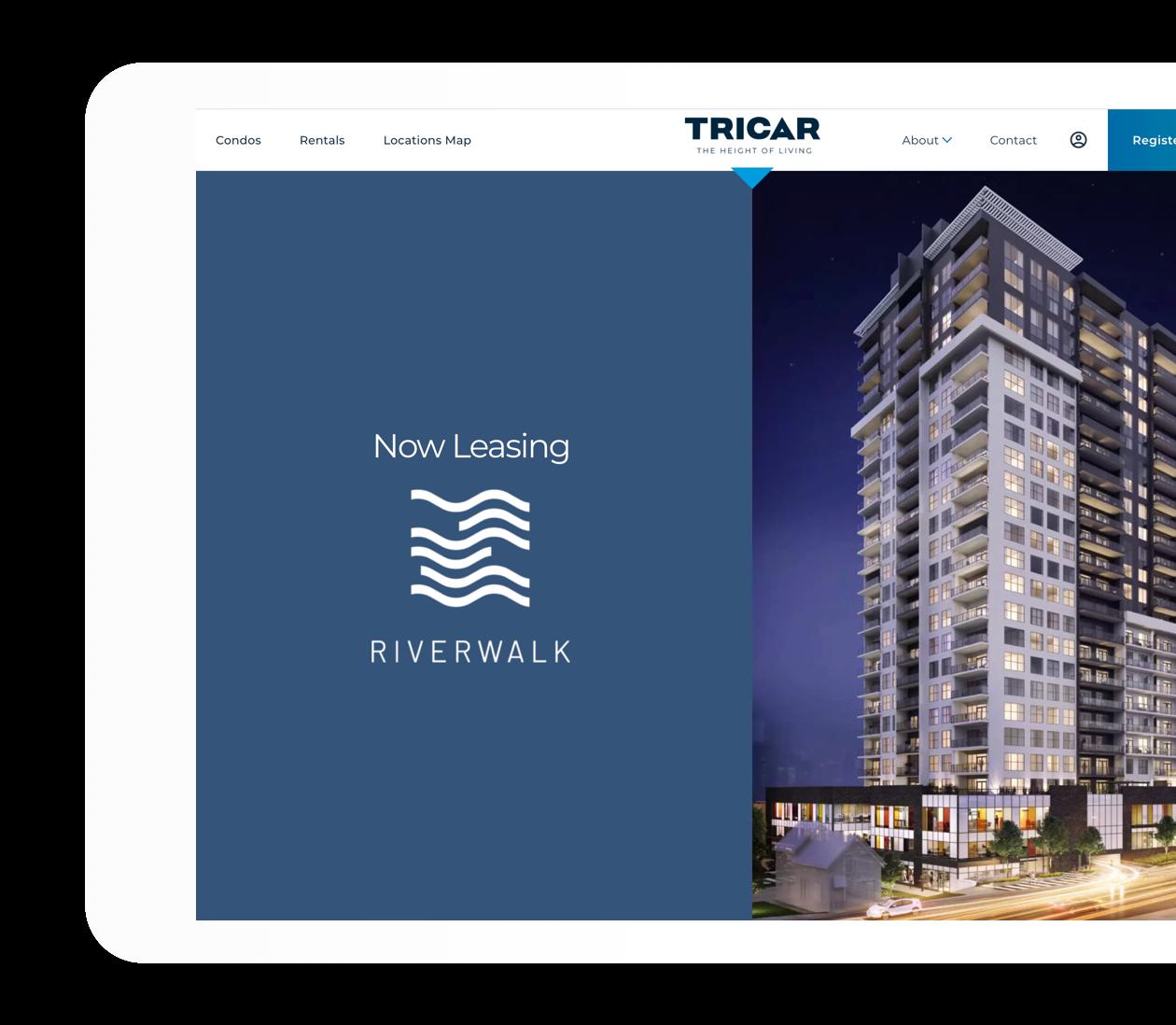 Riverwalk community page