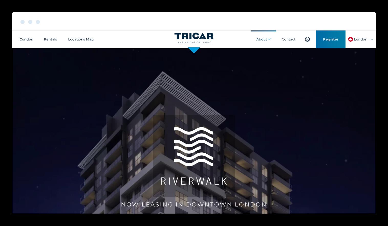Tricar new nav